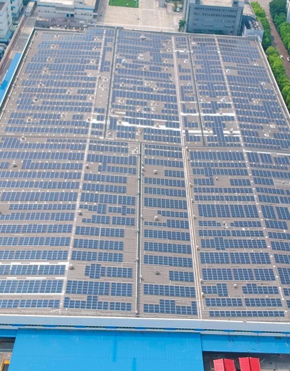 工商业太阳能发电应用案例